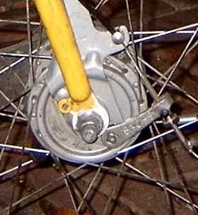 Trommelremmen fiets